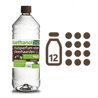 kieselgreen bioethanol Koffiegeur huisparfum